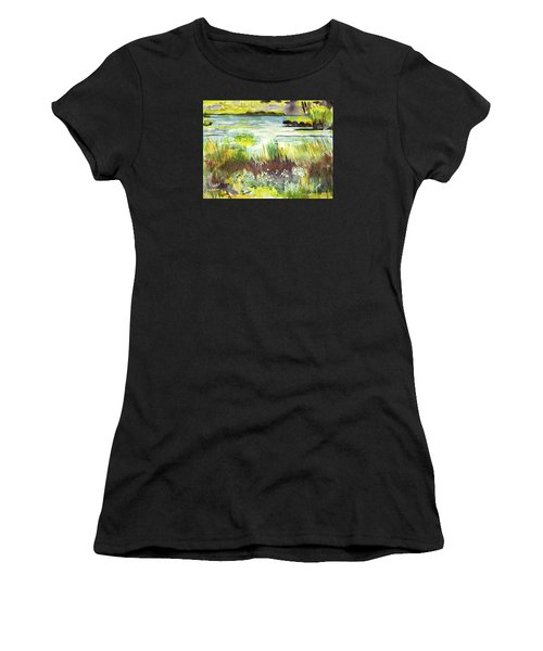 Pond And Plants Women's T-Shirt