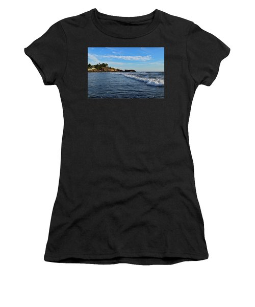 Poneloya Beach Before Sunset Women's T-Shirt