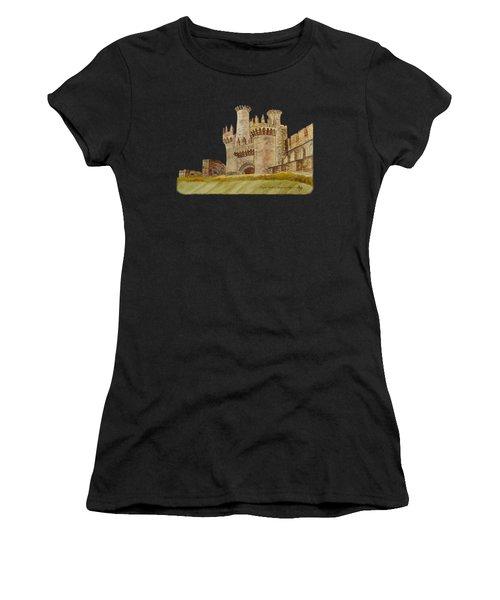 Ponferrada Templar Castle  Women's T-Shirt