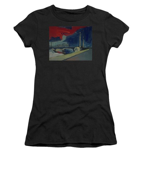 Pont Fragnee In Liege Women's T-Shirt