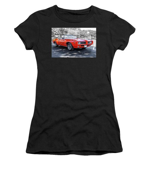 Pontiac G T O Judge Convertible Women's T-Shirt (Athletic Fit)