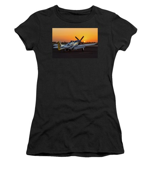 Pony In Repose Women's T-Shirt (Athletic Fit)