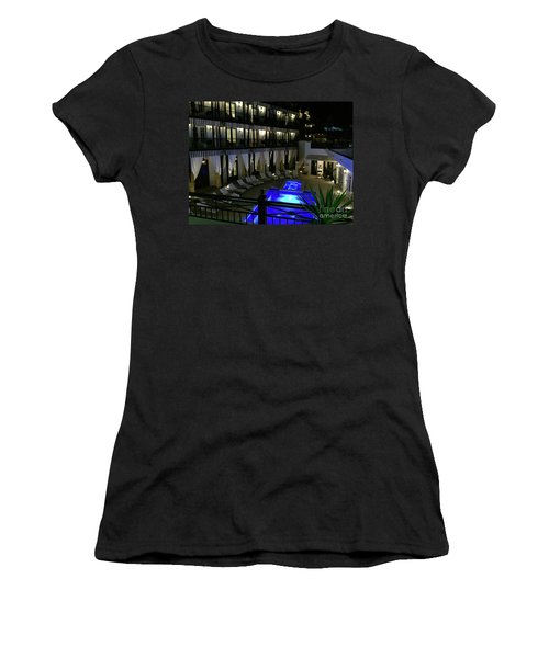 Poolside At The Pearl Women's T-Shirt (Athletic Fit)
