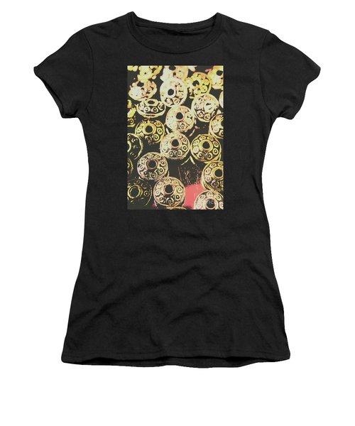 Pop Art Space Invaders Women's T-Shirt