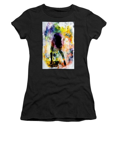 Pop Dance Women's T-Shirt (Athletic Fit)