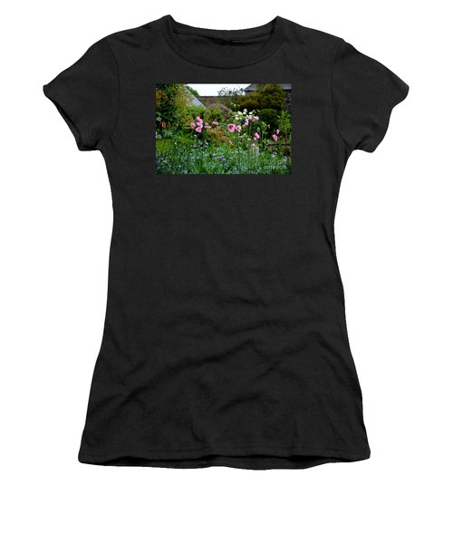 Women's T-Shirt (Junior Cut) featuring the photograph Poppies Of The Great Dixter by Tanya Searcy