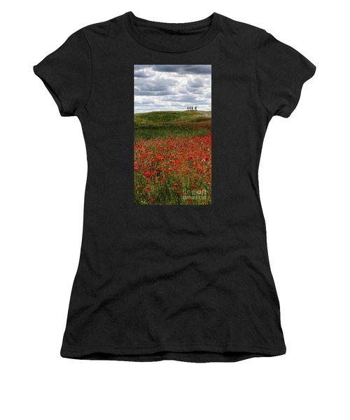 Poppy Field Women's T-Shirt