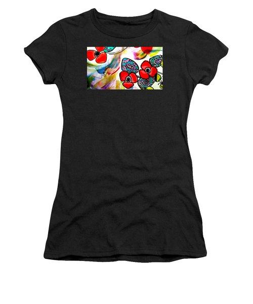 Poppy Fun Women's T-Shirt