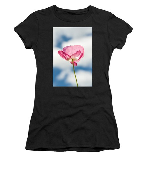 Poppy In The Clouds Women's T-Shirt