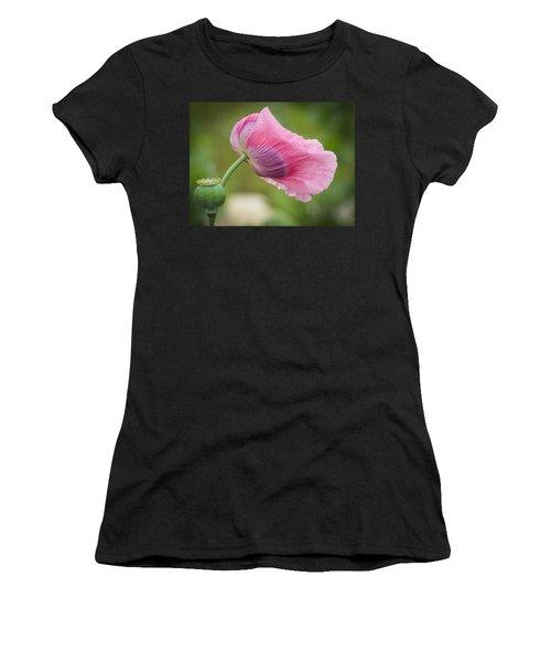 Poppy In The Wind Women's T-Shirt