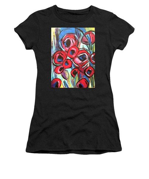 Poppy Love 1 Women's T-Shirt