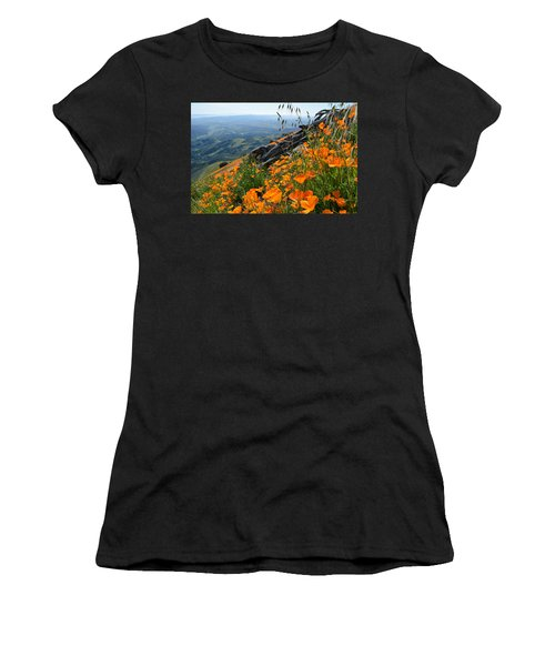 Poppy Mountain  Women's T-Shirt