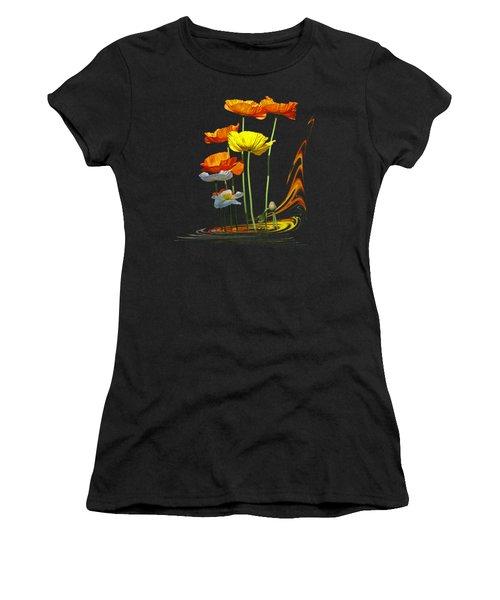 Poppy Pirouette Women's T-Shirt (Athletic Fit)