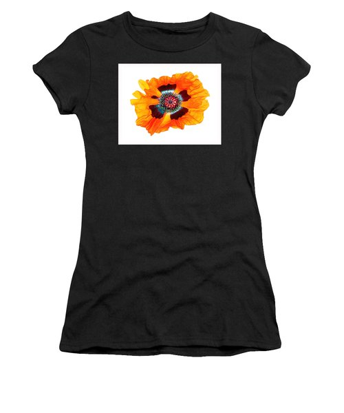 Poppy Pleasing Women's T-Shirt (Athletic Fit)