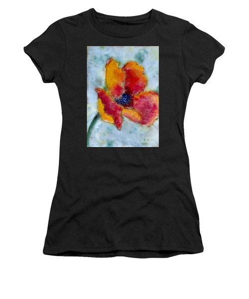 Poppy Smile Women's T-Shirt