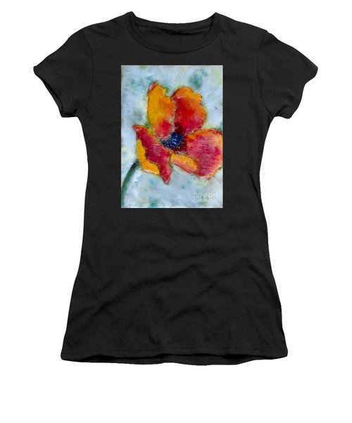 Poppy Smile Women's T-Shirt