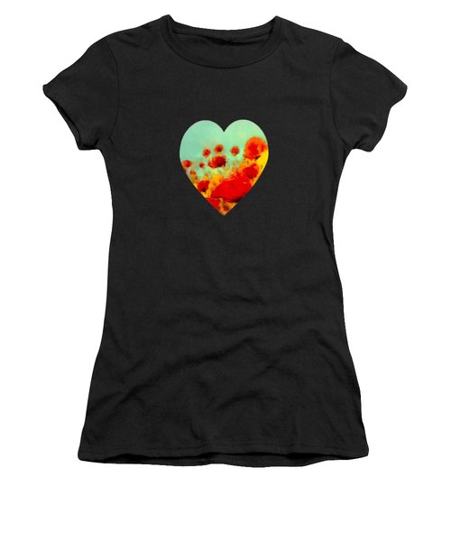 Poppy Time Women's T-Shirt (Athletic Fit)