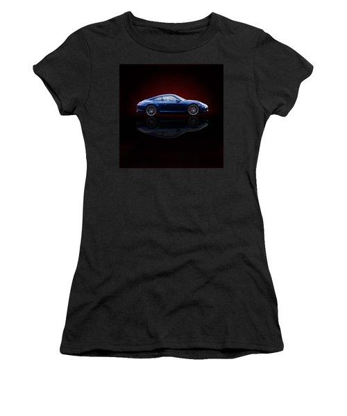 Porsche 911 Carrera - Blue Women's T-Shirt