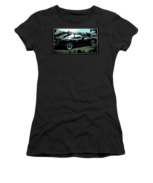 Porsche 944 Women's T-Shirt (Junior Cut) by George Pedro