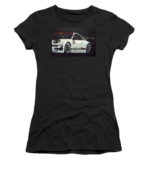 Porsche Gt3 Rsr Women's T-Shirt (Athletic Fit)