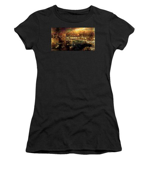 The Old Port Of Marseille Women's T-Shirt (Athletic Fit)