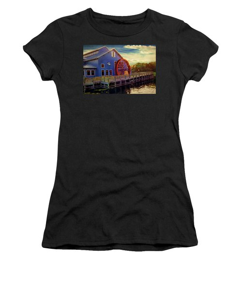 Port Orleans Riverside Women's T-Shirt (Athletic Fit)