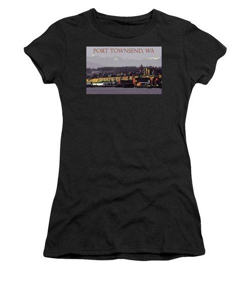Port Townsend Washington Women's T-Shirt