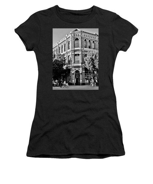 Port Townsend Washington State Architecture Bw Women's T-Shirt