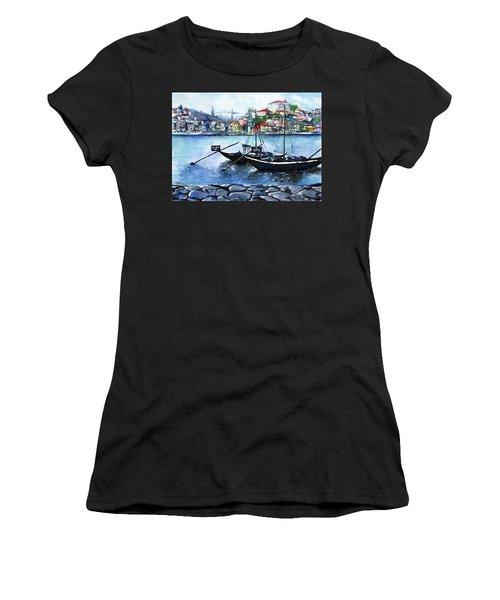 Porto Rabelo Boats Women's T-Shirt