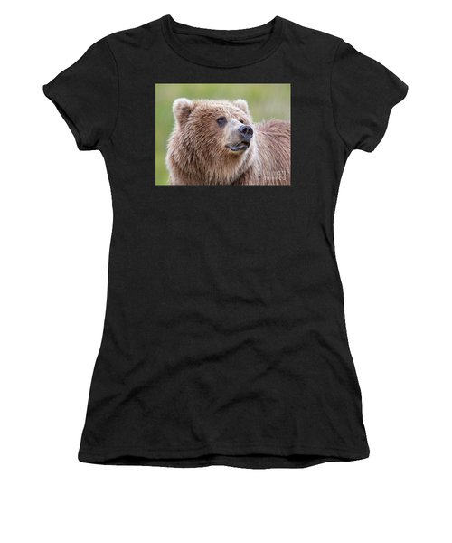 Portrait Of A Grizzly Women's T-Shirt
