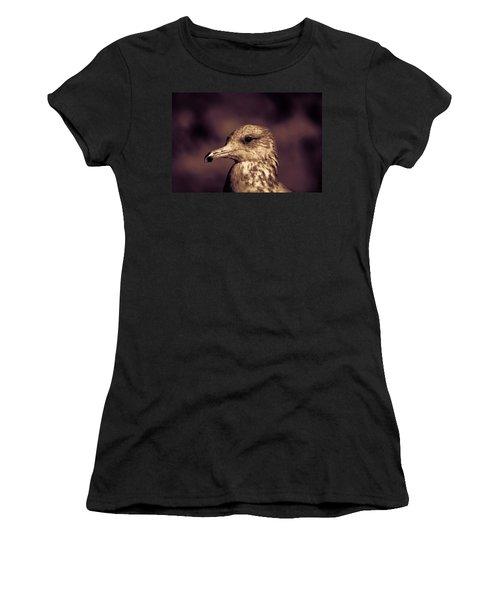 Portrait Of A Gull Women's T-Shirt