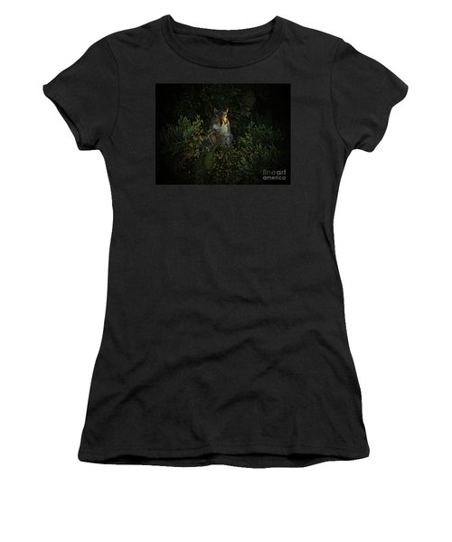 Portrait Of A Squirrel Women's T-Shirt (Athletic Fit)