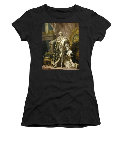 Portrait Of Louis Xv Of France Women's T-Shirt