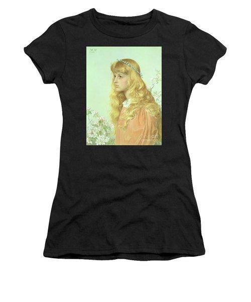 Portrait Of Miss Adele Donaldson, 1897 Women's T-Shirt (Athletic Fit)