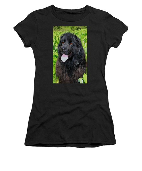Portrait Of Sierra Women's T-Shirt (Athletic Fit)