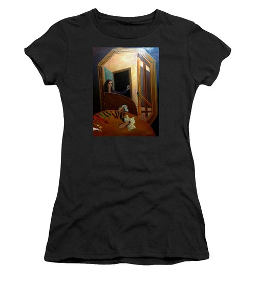Portrait Of The Artist Women's T-Shirt