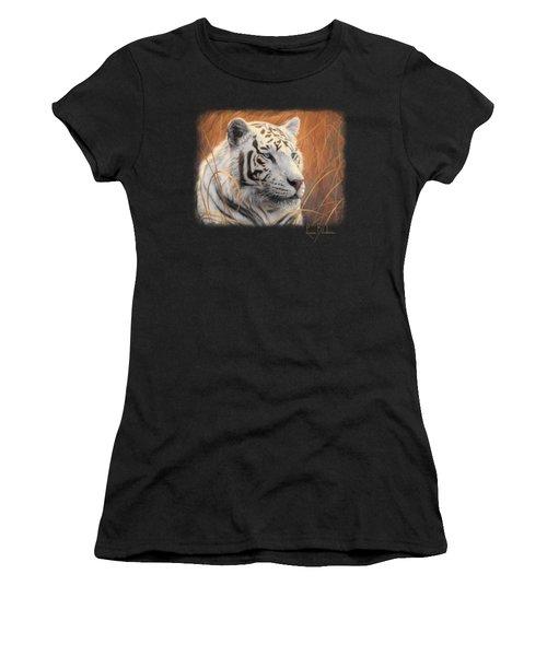 Portrait White Tiger 2 Women's T-Shirt
