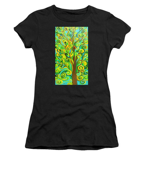 Positronic Spirit Tree Women's T-Shirt (Athletic Fit)