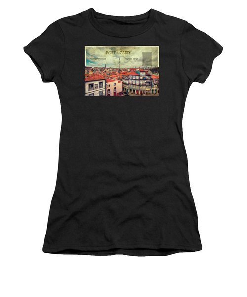postcard of Porto Women's T-Shirt