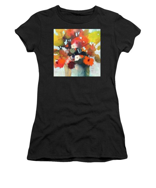 Pot Of Flowers Women's T-Shirt