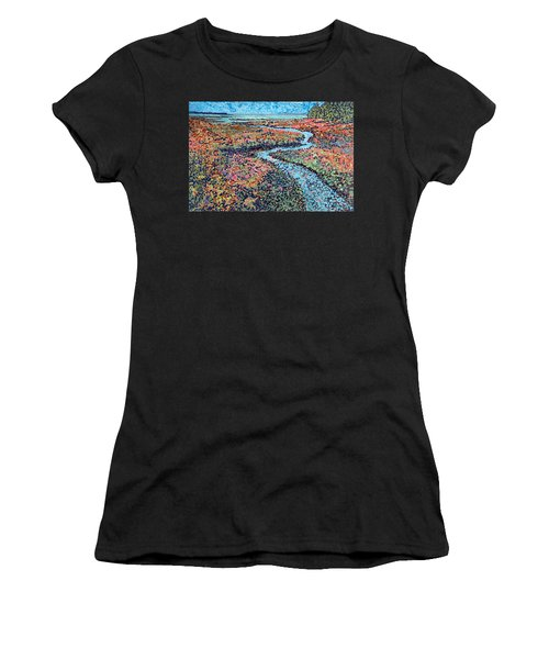 Pottery Creek Women's T-Shirt (Athletic Fit)