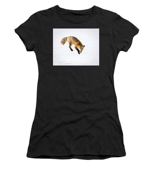 Pounce Women's T-Shirt (Athletic Fit)