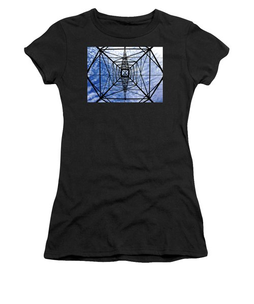 Powerful Geometry Women's T-Shirt (Athletic Fit)
