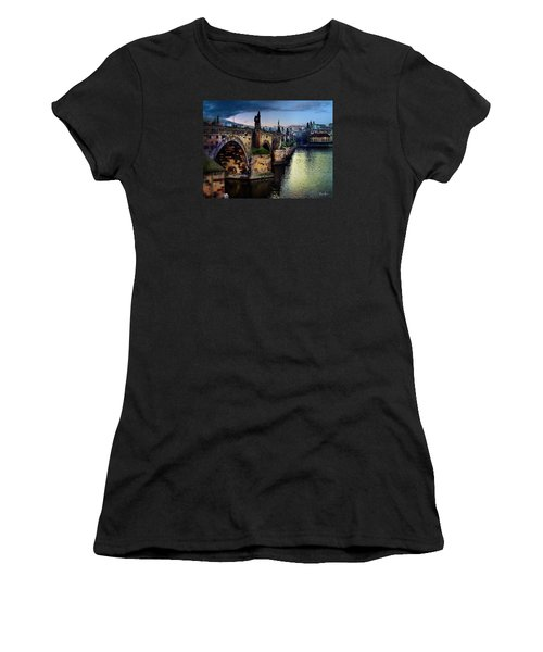 Prague At Dusk Women's T-Shirt