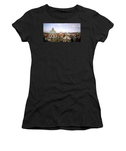 Prague Twilight Women's T-Shirt (Athletic Fit)