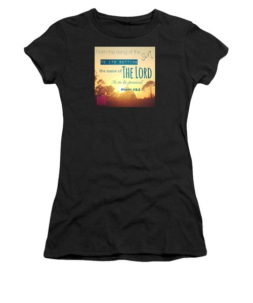 From The Rising Of The Sun Women's T-Shirt