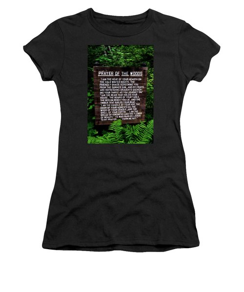 Prayer Of The Woods Women's T-Shirt