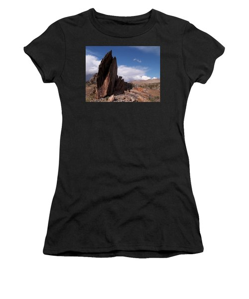 Prayer Rocks - Route 66 Women's T-Shirt