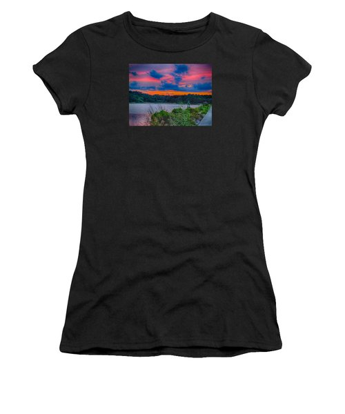 Pre-sunset At Hbsp Women's T-Shirt (Athletic Fit)