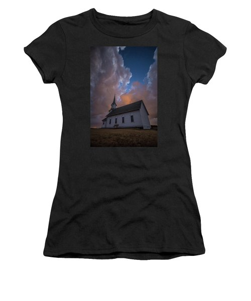Women's T-Shirt (Athletic Fit) featuring the photograph Preacher by Aaron J Groen
